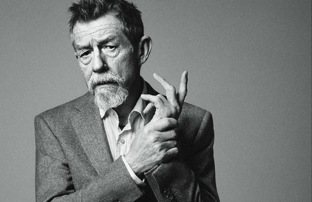 John Hurt for Alfred Dunhill