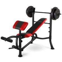 Competitor Pro Bench With 100 Lb Weight Set From Big 5 Sporting Goods 129 99 28 Off Weight Benches No Equipment Workout At Home Gym