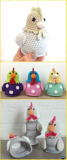 Easter Crochet Chicken Free Patterns Amigurumi Patterns Free