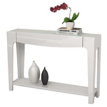 console arena coloris blanc pas cher c 39 est sur large choix prix discount et. Black Bedroom Furniture Sets. Home Design Ideas