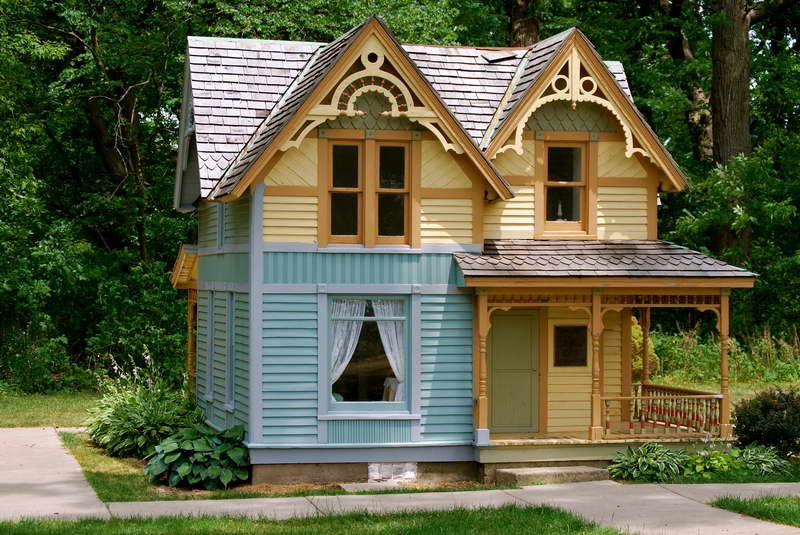 Tiny House Floor Plans With Cool Designs. I this Victorian ...