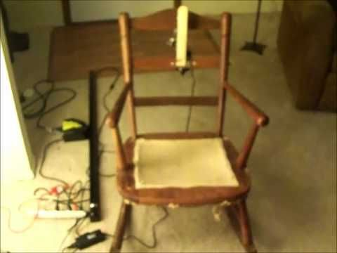▷ Automated Rocking Chair Prop - YouTube Halloween Pinterest