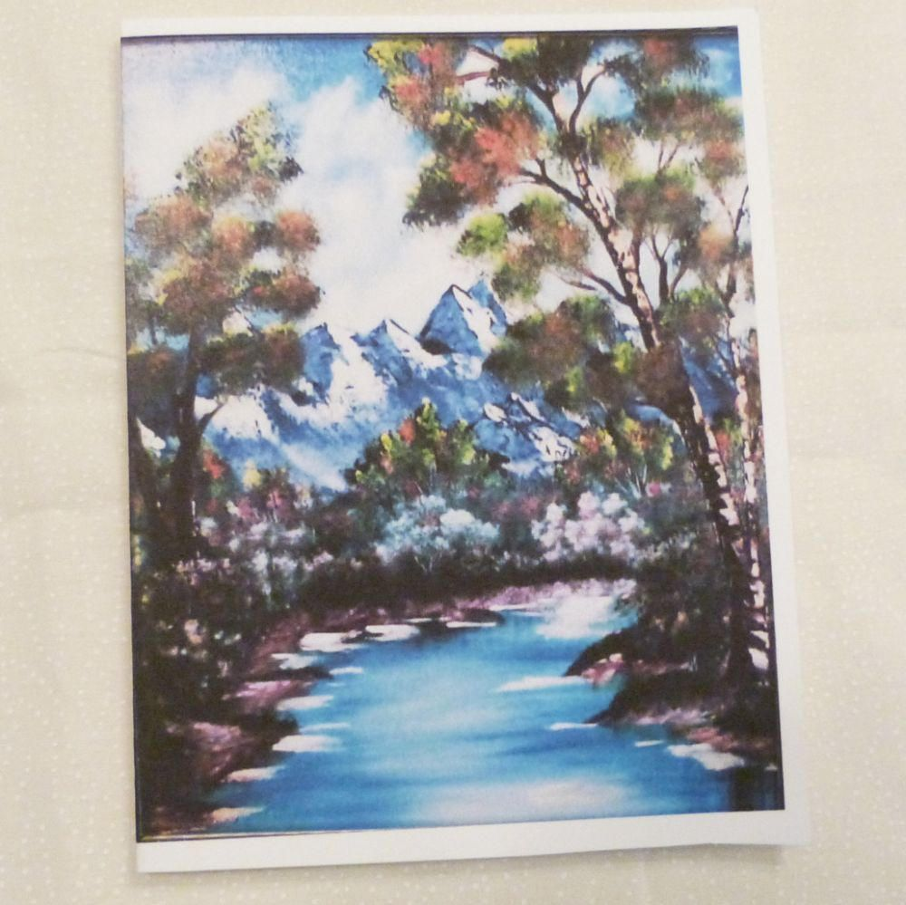 Handmade greeting card landscape all occasion greeting card handmade greeting card landscape all occasion greeting card birthday friend just to say hello boys greeting card made in the usa m4hsunfo