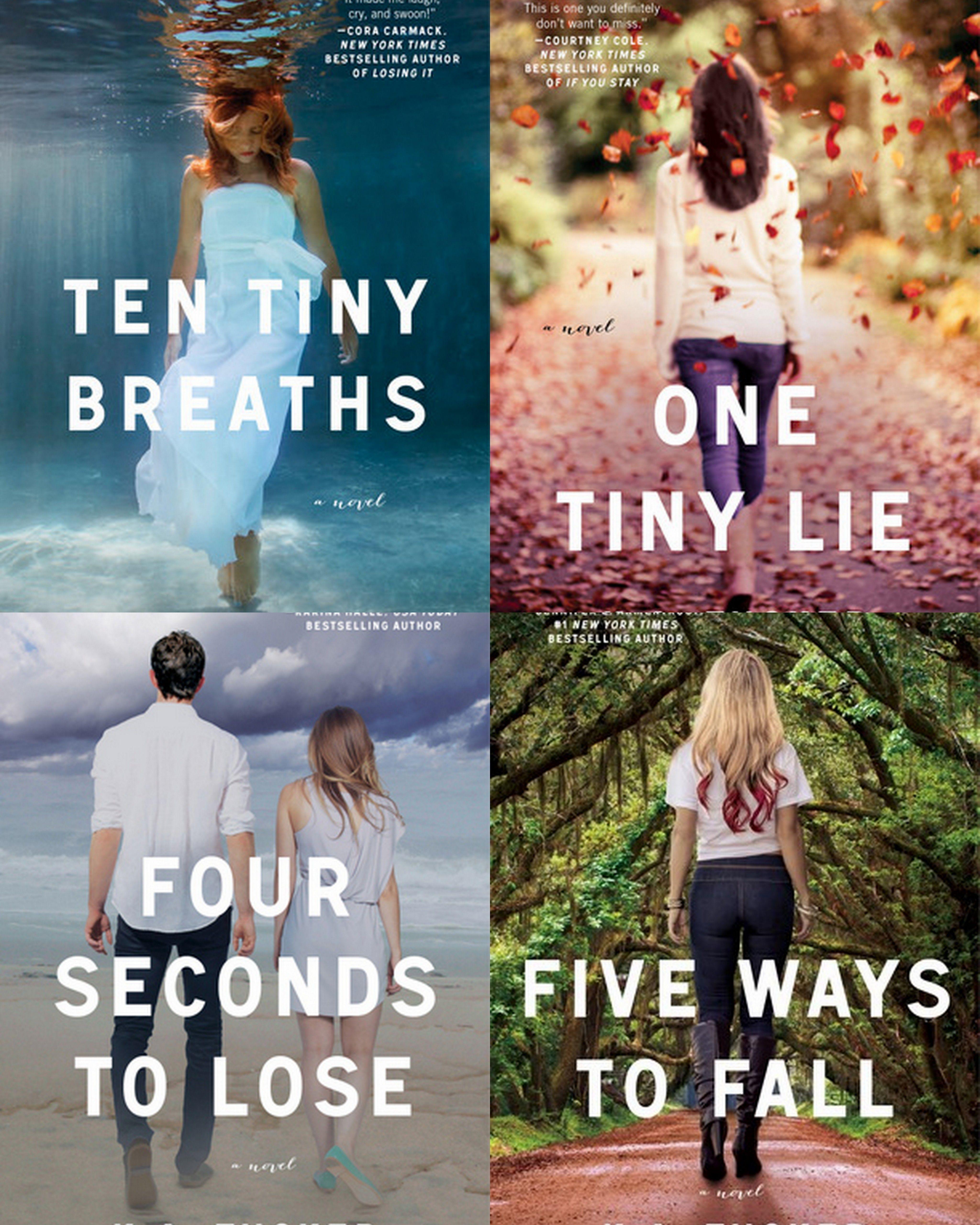 Ten Tiny Breaths (series)  Ka Tucker (printed Words)