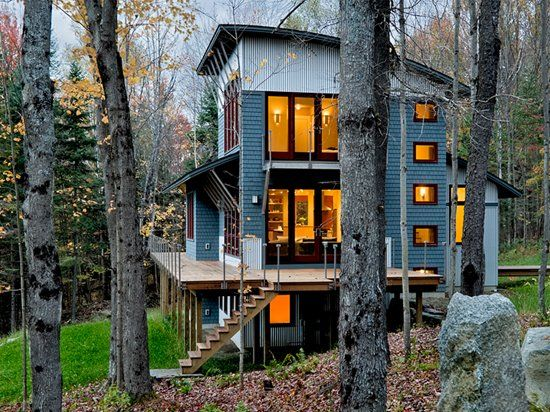 Weekend House in New Hampshire » CONTEMPORIST Weekend