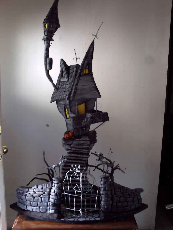 A nightmare before christmas, jacks haunted house. custom order ...