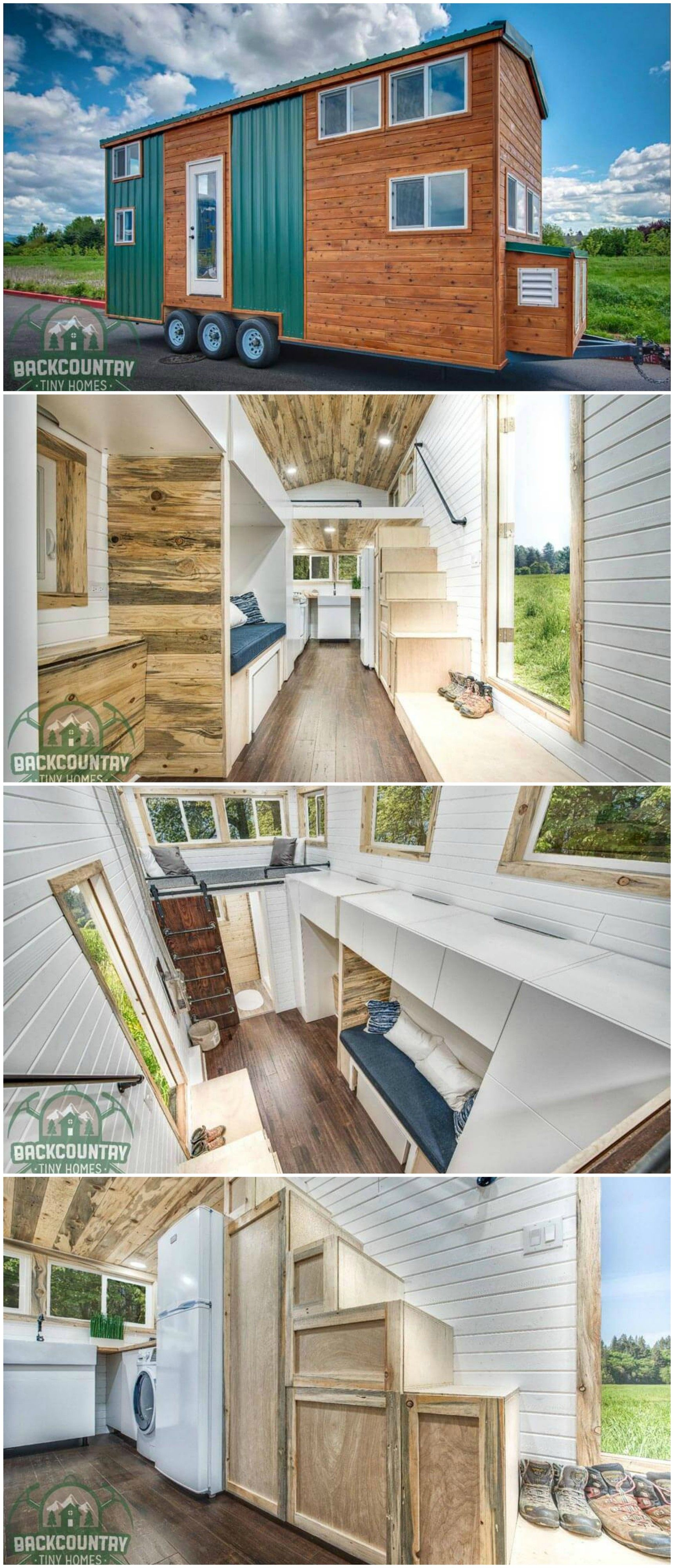 The Juniper Is A Great Tiny House Built By Backcountry Homes In Vancouver Washington