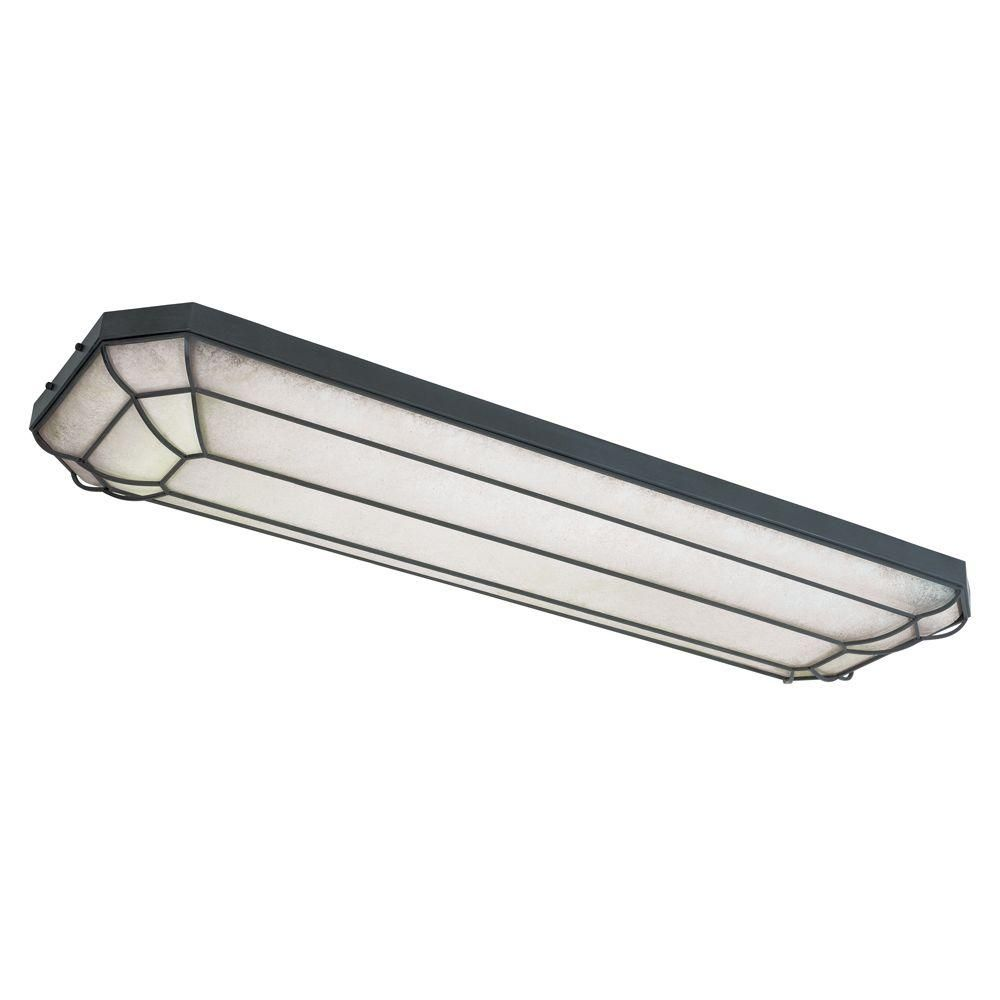 World Imports Rennes Track Collection 4 Light Fluorescent Rust Flush Mount Wi720242 The Home Flush Ceiling Lights Fluorescent Light Covers Flush Mount Lights