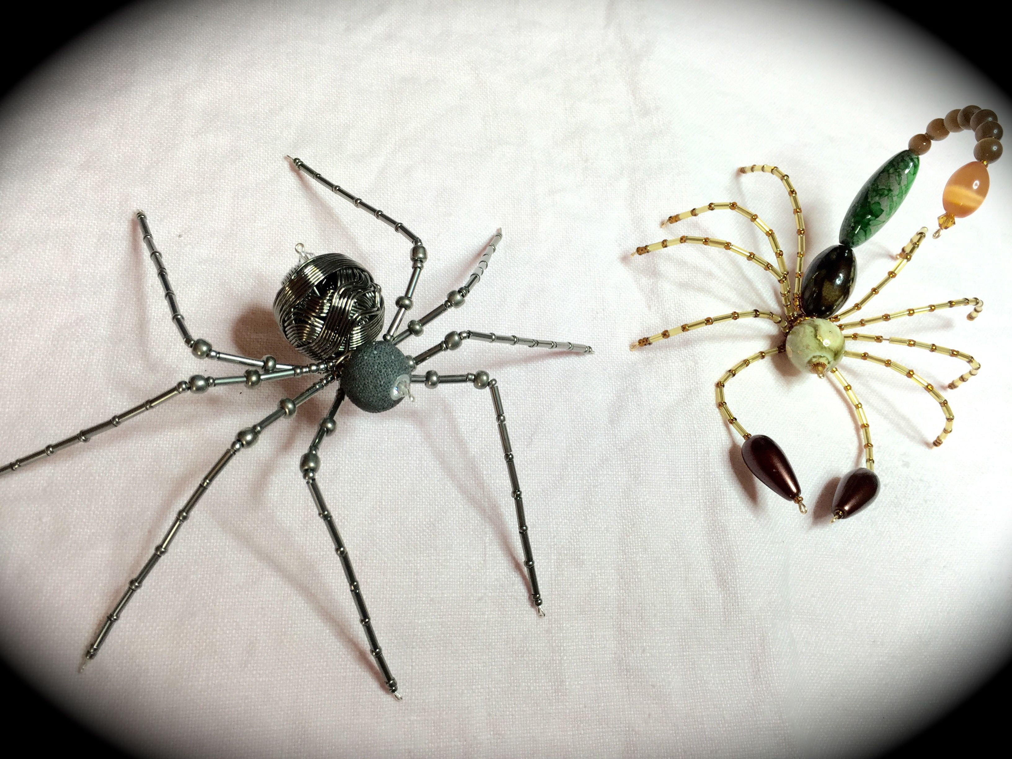 Image result for scorpion made out of beads | Beaded Spiders and ...
