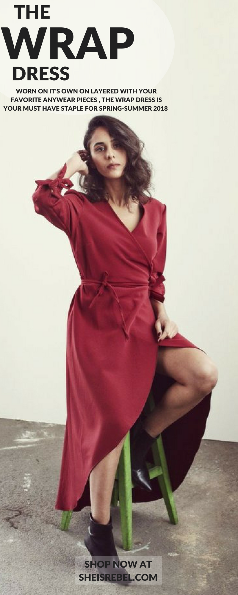 Wrap dress with belt black womenus fashion sales