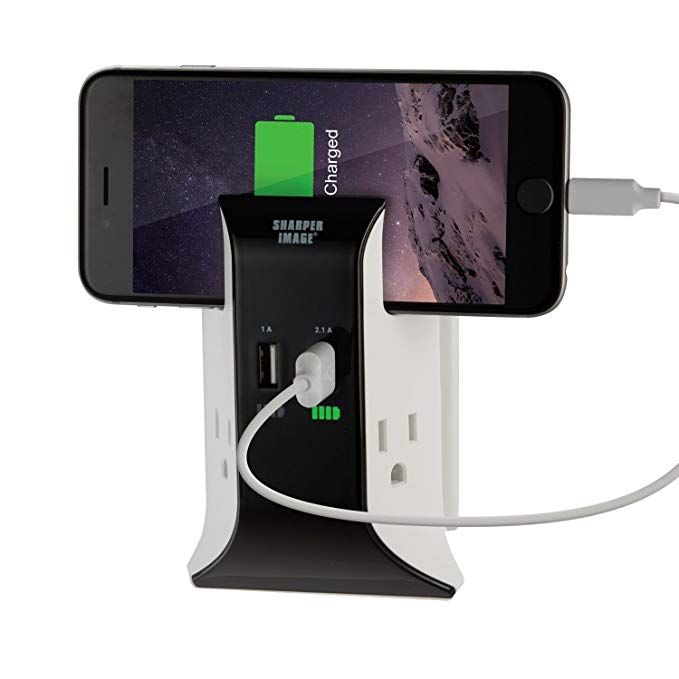 sharper image visual charge usb wall plate charger review on usb wall charger id=17491