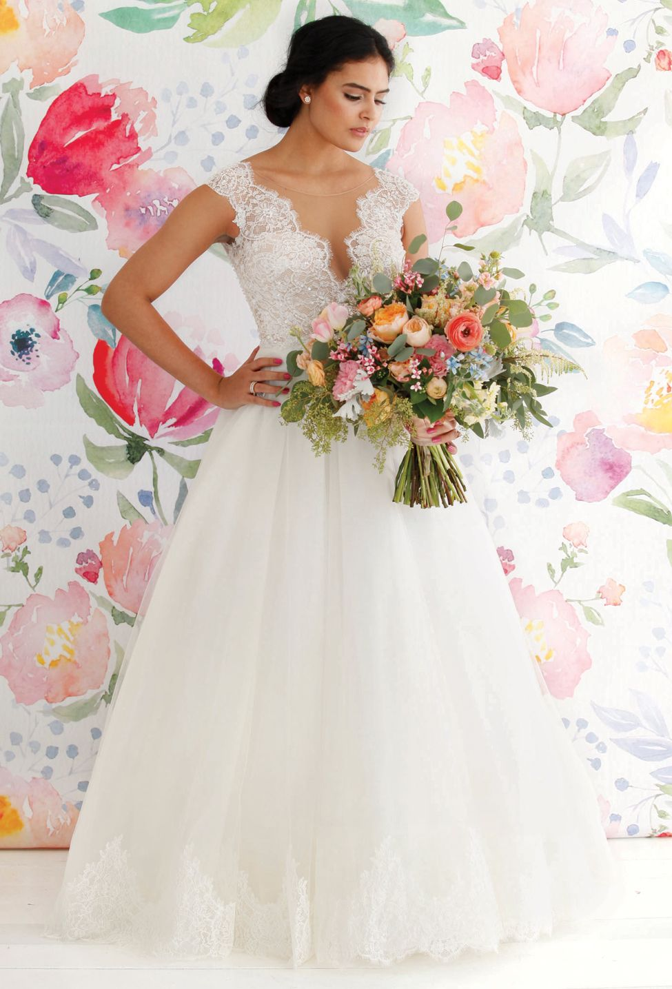 Love Abloom Wedding Gowns Accessories For The Spring Summer