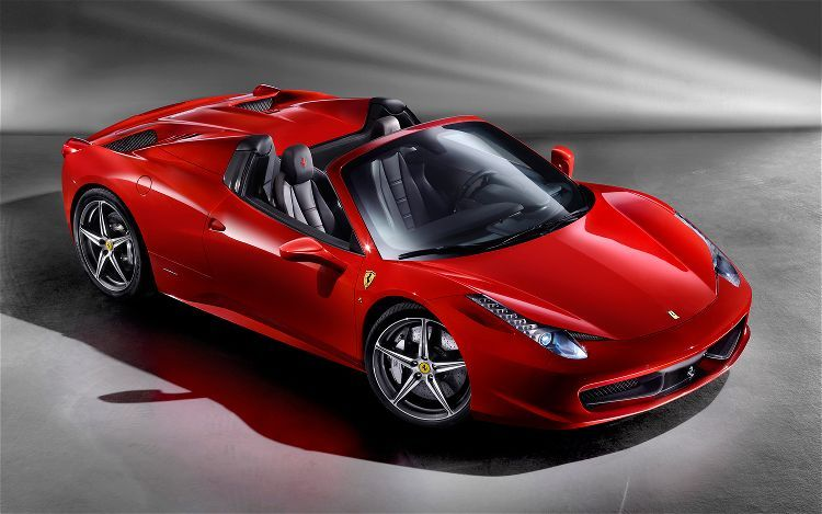 Ferrari 458 Spider... I'll take one please ^_^