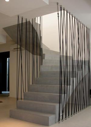 garde corps en corde garde corps m tal en 2019. Black Bedroom Furniture Sets. Home Design Ideas