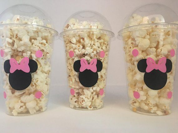 Minnie Mouse party favor bags, Minnie Mouse Party Favors, Minnie Mouse party Cups, Minnie Mouse Birthday Party Cups, Minnie Mouse favors #minniemouse