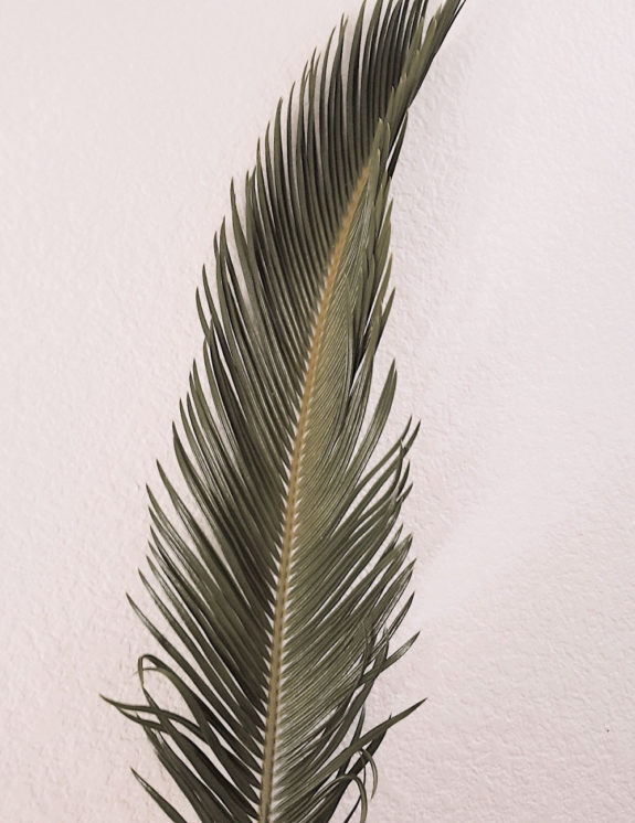 Areca Palm Leaf Painted In Gold Design Element Free Image By Rawpixel Com Teddy Rawpixel