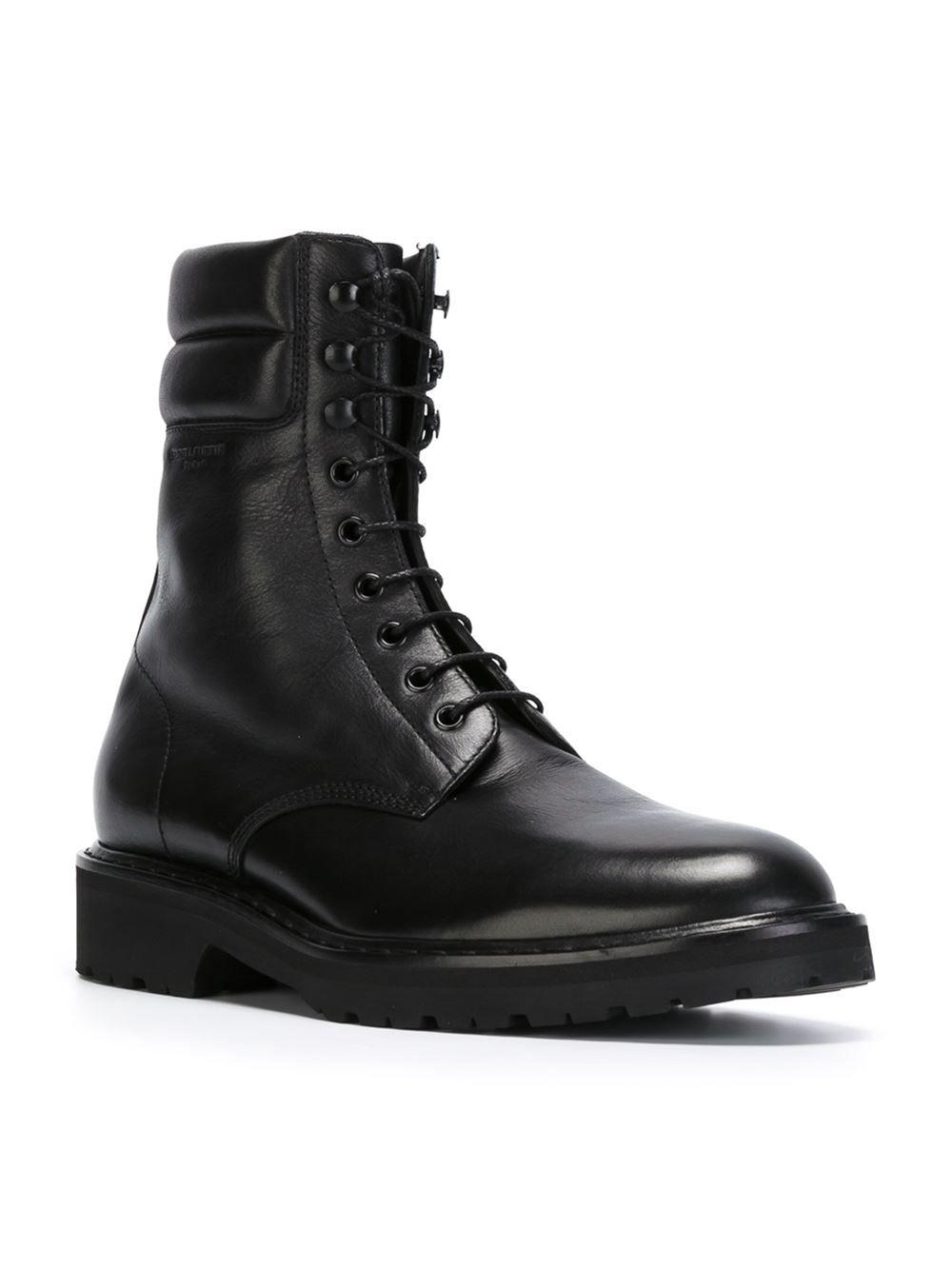 c236862f90b78 Saint Laurent 'Combat' boots | MEN'S STYLE | Mens designer boots ...