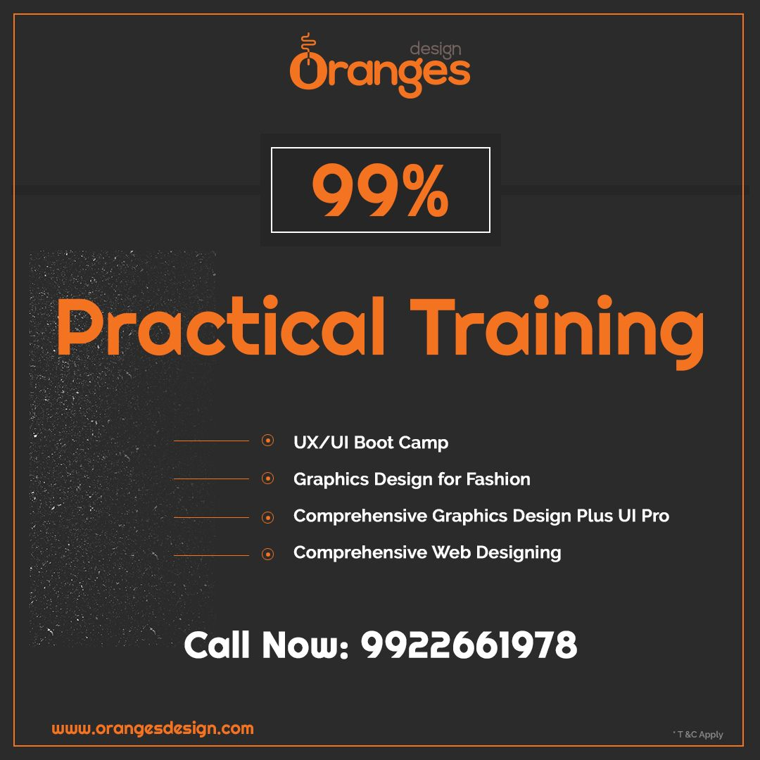 99 Practical Training 100 Job Guarantee Admission Open Www Orangesdesign Com Call 91 9922661978 7666292097 311 Amanora Mall Hadapsar Graphic Design Course