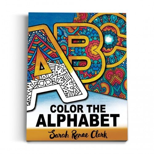 Color the Alphabet Printable Adult Coloring Book is part of Adult coloring books printables, Printable adult coloring, Coloring books, Detailed coloring pages, Printable coloring book, Adult coloring - Color the Alphabet is an AZ Coloring Book for kids and grownups that includes all 26 letters of the alphabet in detailed coloring pages  It contains 40 pages of unique artwork 26 full size coloring pages, each containing a single letter from AZ 26 half size designs over 13 coloring pages  Each page includes 2 designs with a letter each from AZ  All but a few designs are different to the full size designs  1 bonus coloring page with a mix of letters hidden in the design
