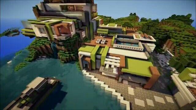 Keralis mansion 4 Keralis Pinterest Mansion Minecraft modern