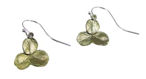 Silver Seasons - Michael Michaud - Clover Earrings