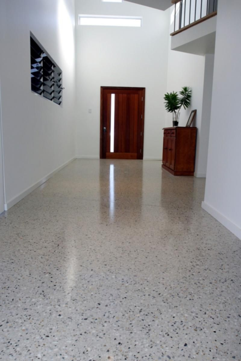 Polished Concrete Floors Residential Polished Concrete Entranceway Images Polished Concrete Concrete Floors Therapy Lamp