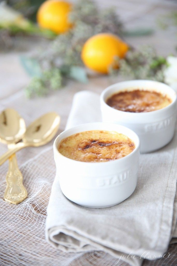 Easy Creme Brulee Recipe Make Ahead Desserts Classic
