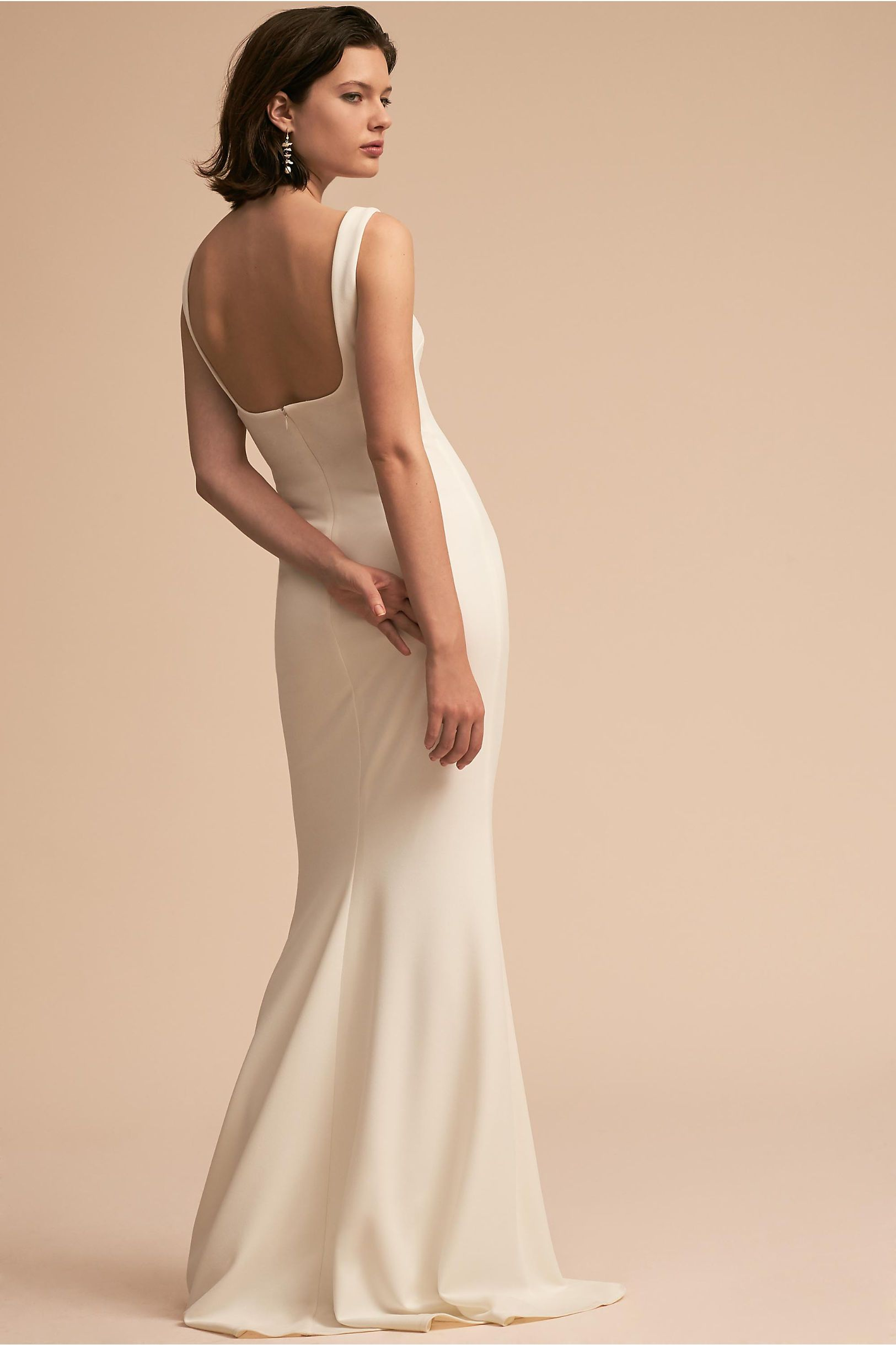 47e7f98067bc BHLDN s Katie May Lucy Dress in Ivory