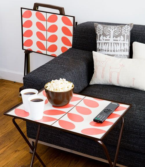 Easy Home Decorating With Trays: 9 Unexpected Ways To Decorate With Wallpaper
