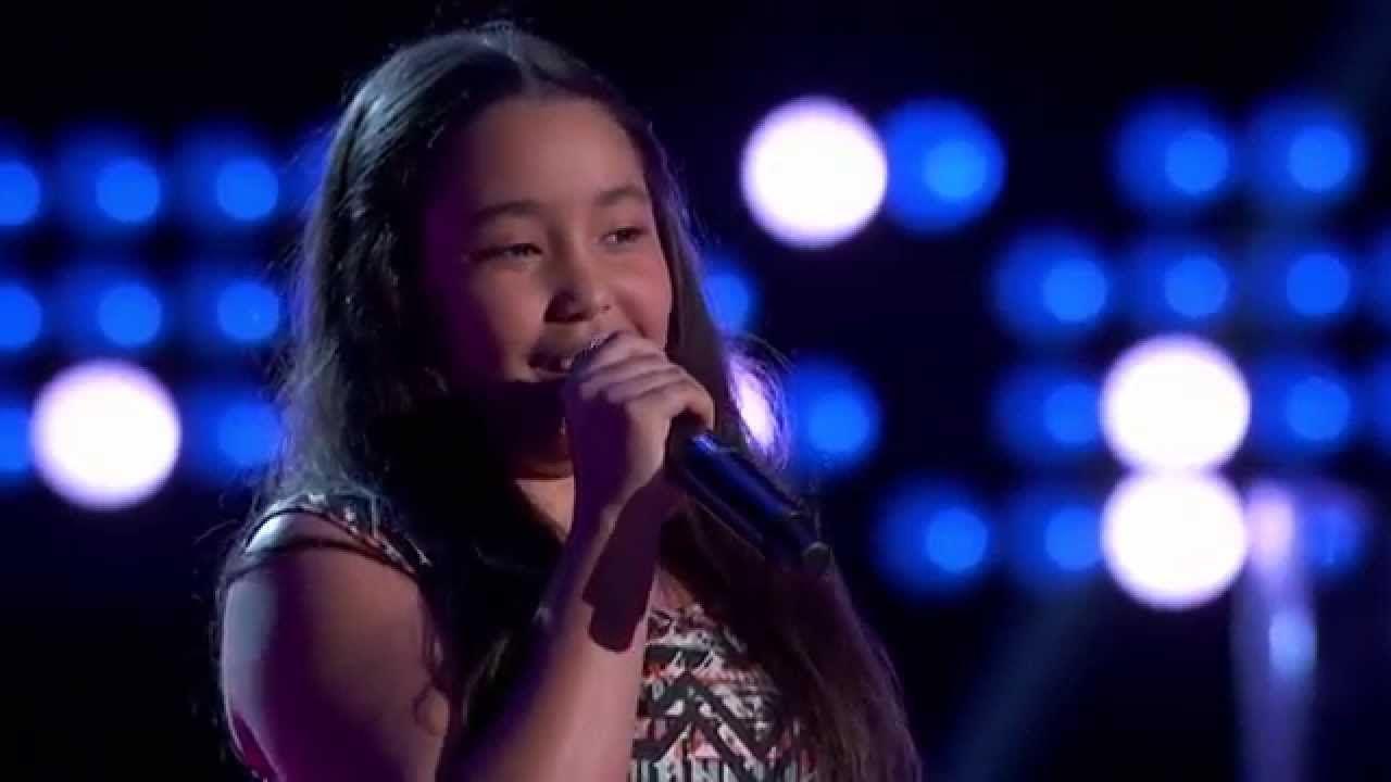 La Voz Kids   Merlyn García canta \'Chandelier\' en La Voz Kids ...