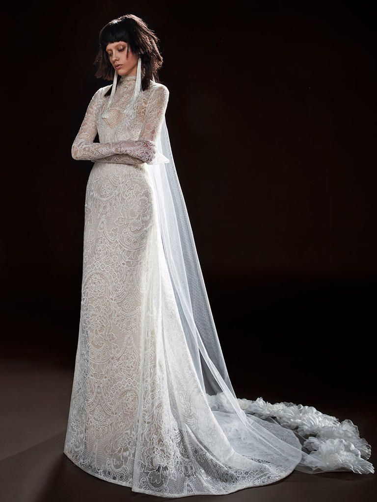 Vera wang spring a twist on modern seduction wedding dress