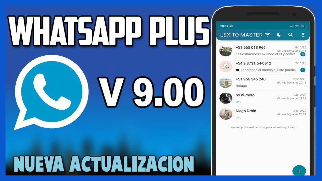 Descargar Whatsapp Plus 9 00 Ultima Version 2020 Tutorial Master