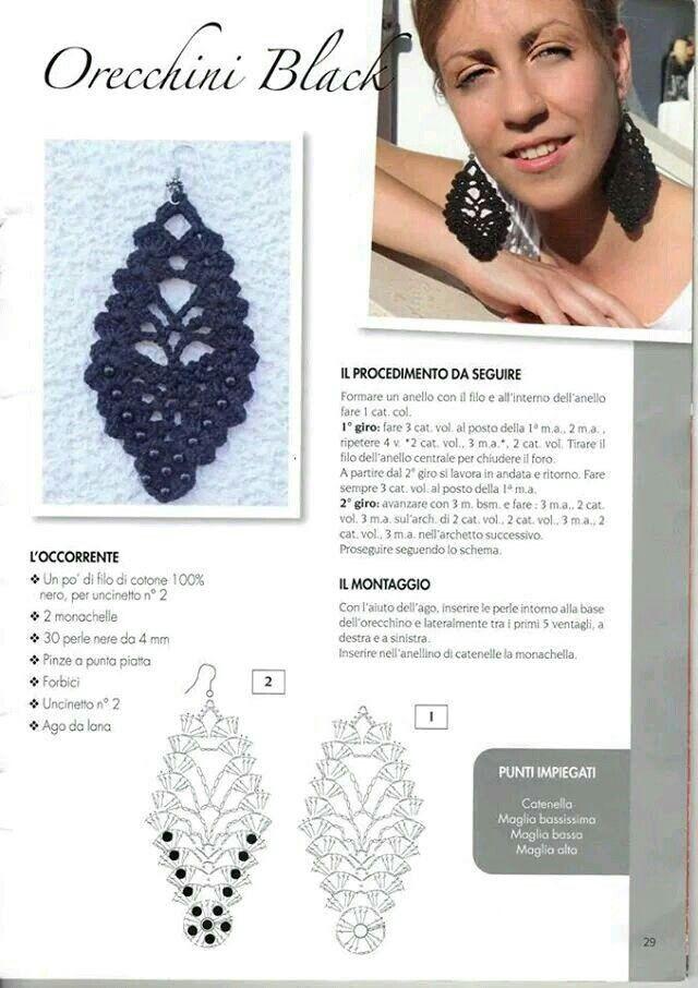 Pin de Myriam Ruiz en croche   Pinterest   Collares de trapillo ...