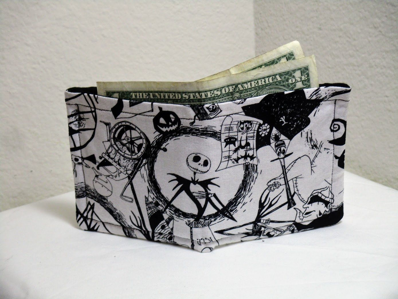 Nightmare Before Christmas Wallet, Jack And Sally Wallet, Cloth ...