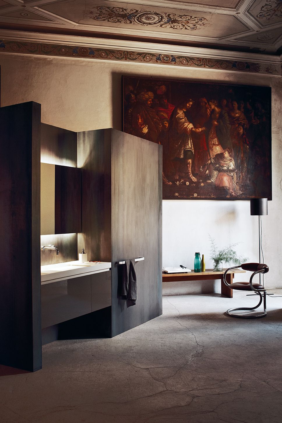 Just Me And A Landscape To Be Contemplated At The Silence Of The Dawn Evo E1 Programme F With Images Bathroom Design Inspiration Bathroom Interior Design Bathroom Design
