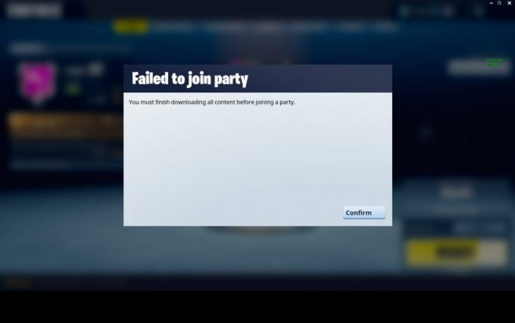 Fixing fortnite you must finish downloading error it is