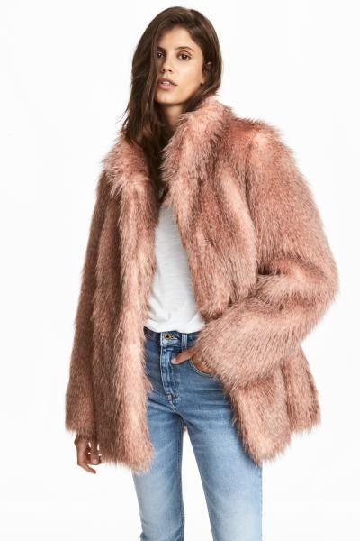d185821858 Cappotto in finta pelliccia | fashion | Pelliccia, Cappotti e Outfit ...