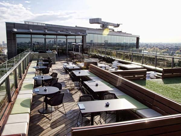 Doubletree Hilton Amsterdam Rooftop Design Rooftop