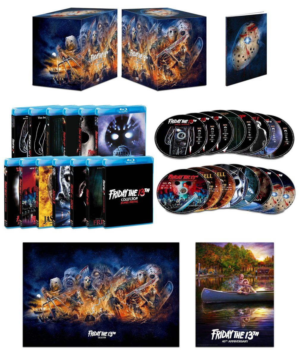 FRIDAY THE 13TH COLLECTION (DELUXE EDITION) Bluray Set