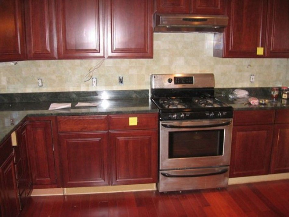 Furniture Affordable Red Kitchen Cabinet Designs ...