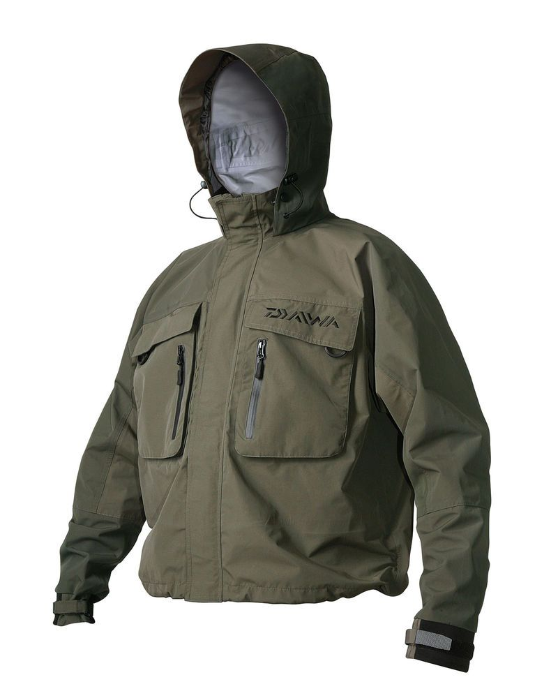 108da9ea292 DAIWA GAME BREATHABLE WADING JACKET 3 PLY high performance fabric. Find  this Pin and more on Fishing Gear ...