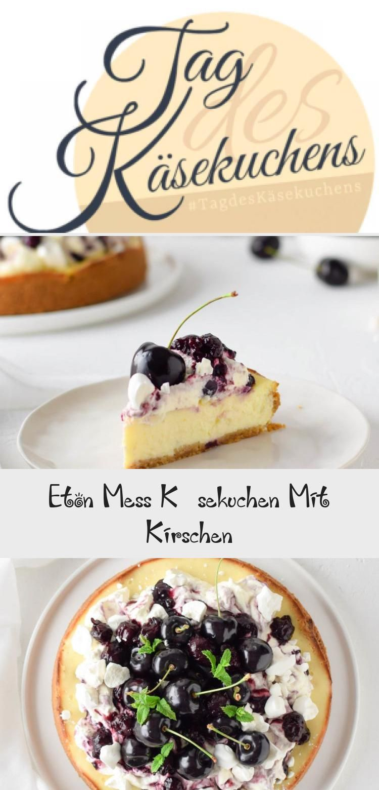 Eton Mess Käsekuchen Mit Kirschen –  Pin Boss