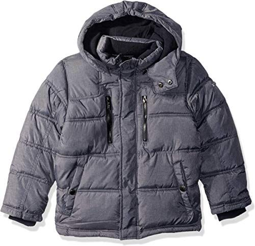 New English Laundry Boys Bubble Jacket Sherpa Trim Online