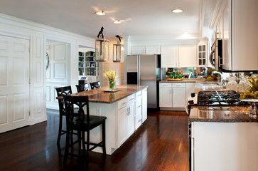 Kitchen - traditional - kitchen - boston - by Mary Prince