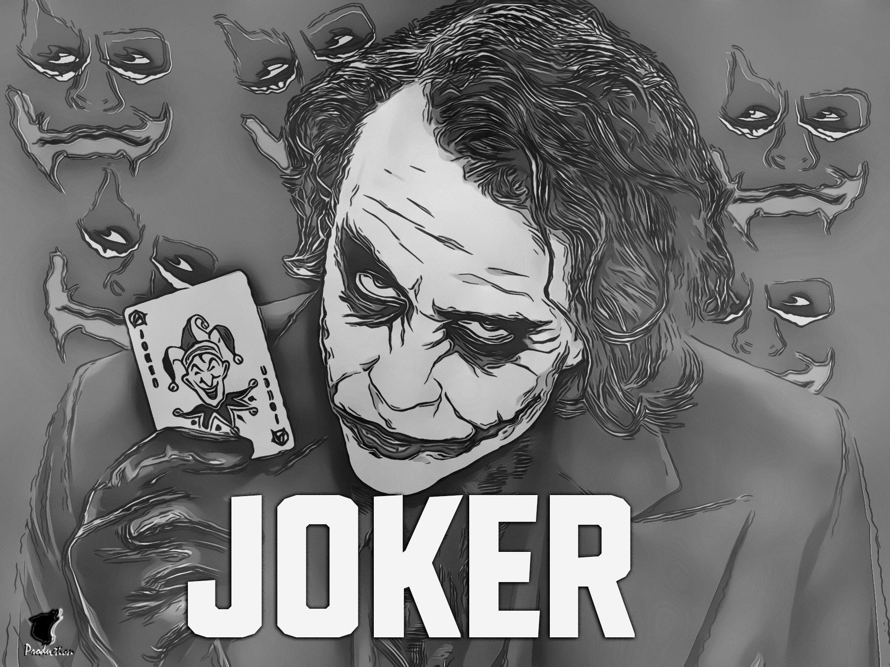 Joker Wallpaper Movie Wolf Production Joker Joker