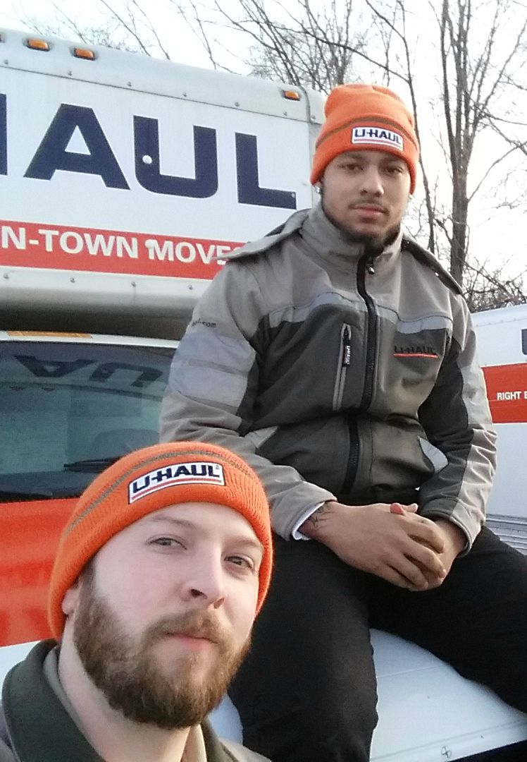 Are you repping uhaul orange on moving day