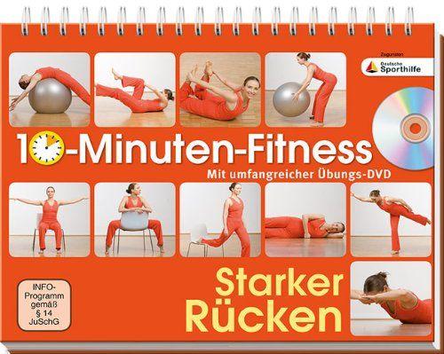 10-Minuten-Fitness Starker Rücken: Mit umfangreicher Übungs-DVD