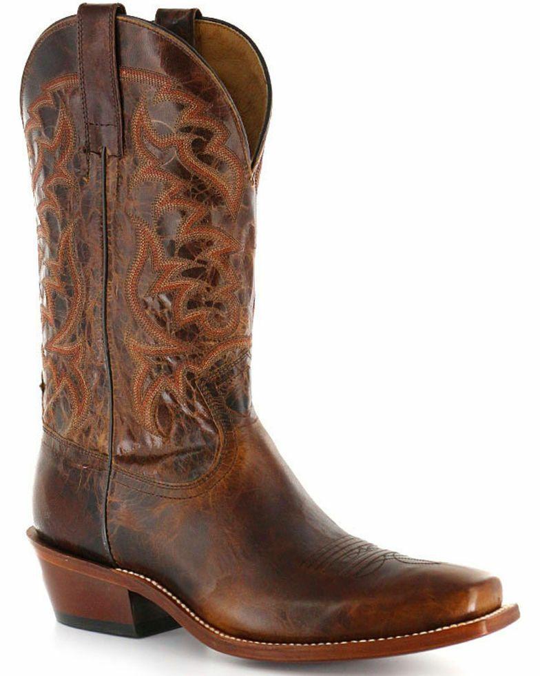 3cc5e347e78 Moonshine Spirit Men's Square Toe Western Boots Brown Size 11.5 ...
