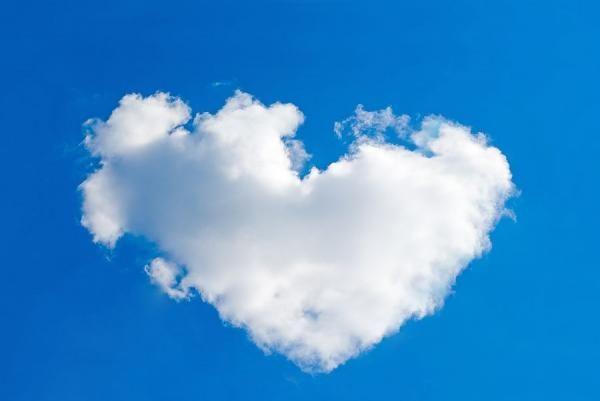 Love Cloud Heart In Nature Nature Nature Photos