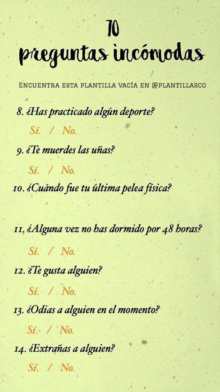 """Pin De Â""""›â""""´ð""""ˆâ""""¯ En Challenge Preguntas Incomodas Preguntas Divertidas Preguntas"""